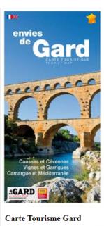Carte Touristique du Gard