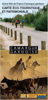 Carte Eco touristique Camargue Gardoise