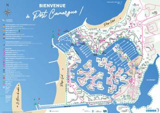 Plan Port Camargue 2021