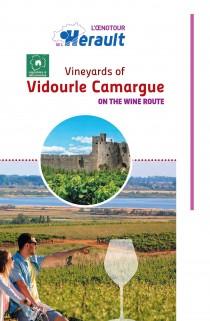 Carte vignobles Vidourle Camargue