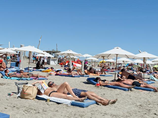 Les plages et plagistes