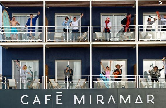 Hotel Restaurant Cafe Miramar Le Grau Du Roi